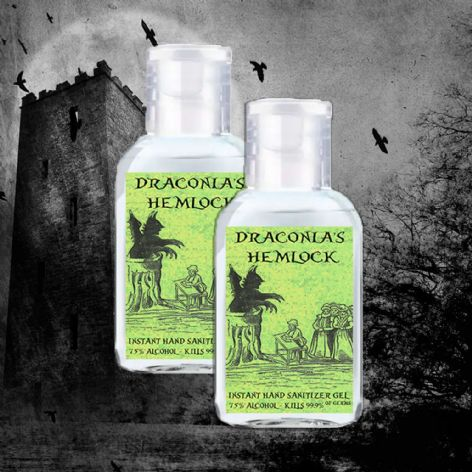 Draconia's Hemlock Gothic Hand Sanitizer (Two Pack)
